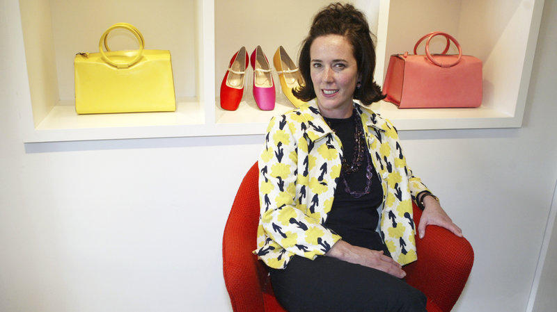 Fashion designer Kate Spade appearently committed suicide on Tuesday.