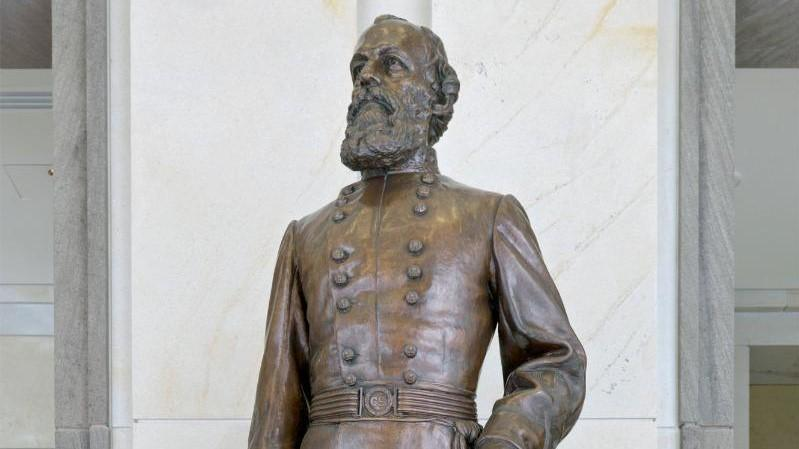 The statue of Gen. Edmund Kirby Smith is being returned to Florida.