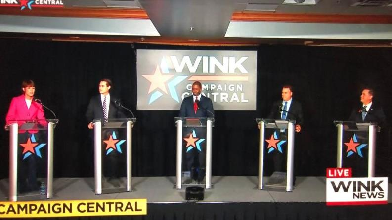 Democratic gubernatorial candidates debated in Ft. Myers Wednesday night.