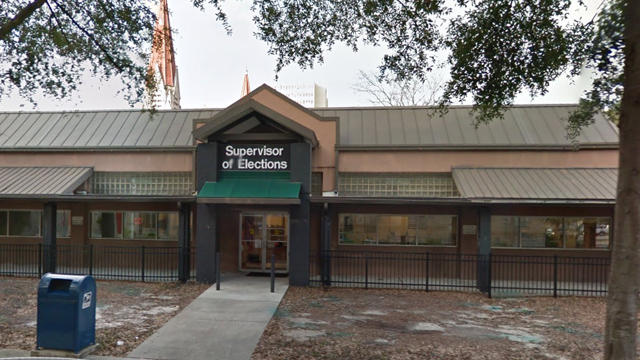 The Duval County Supervisor of Elections building at 105 E. Monroe St. in downtown Jacksonville is pictured.