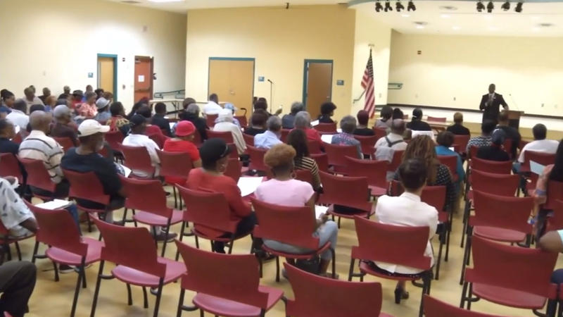 Jacksonville City Council District 10 Councilman Terrence Freeman held his first community meeting Thursday night.