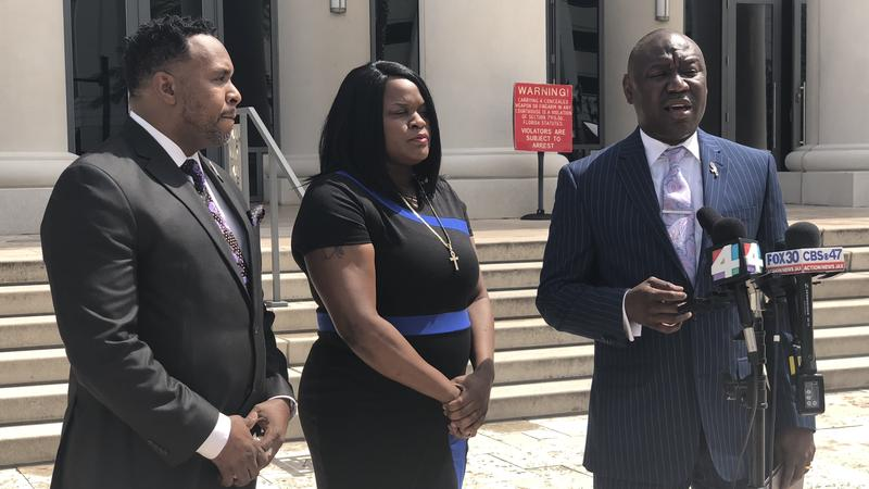 Pictured left to right: Christopher O'Neal, Kirenda Welch, Benjamin  Crump