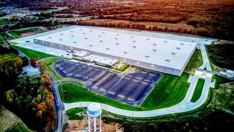 Lowe's new direct fulfillment center in Coopertown, Tennessee. By 2023, Lowe's expects to have approximately 600 employees at the facility.