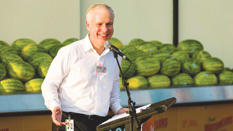 Southeastern Grocers CEO Anthony Hucker