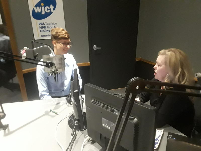 Soon to be Georgetown student Seth Owen joined host Melissa Ross Wednesday on First Coast Connect.