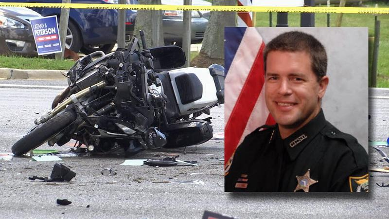 Traffic Deputy Ben Zirbe was critically injured in a Sunday crash.