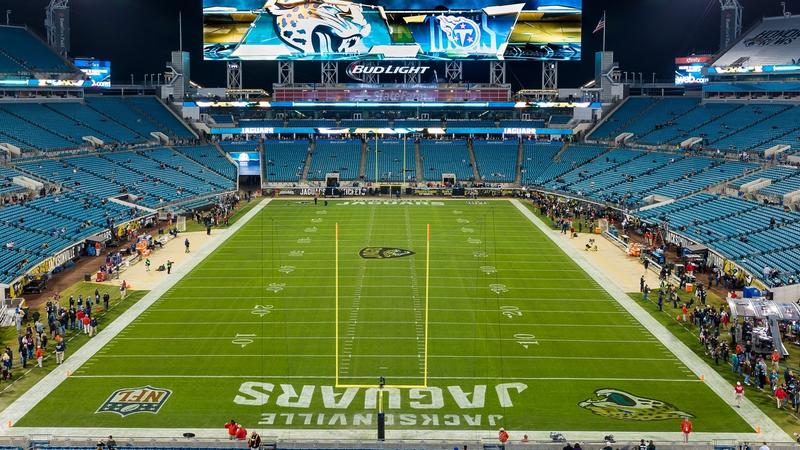 The Jaguars will take on the Saints Thursday night at TIAA Bank Field.