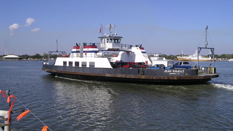 The St. Johns River Ferry.