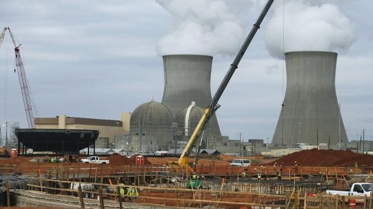 The Plant Vogtle nuclear plant is shown under construction in this photo taken in December of 2012.