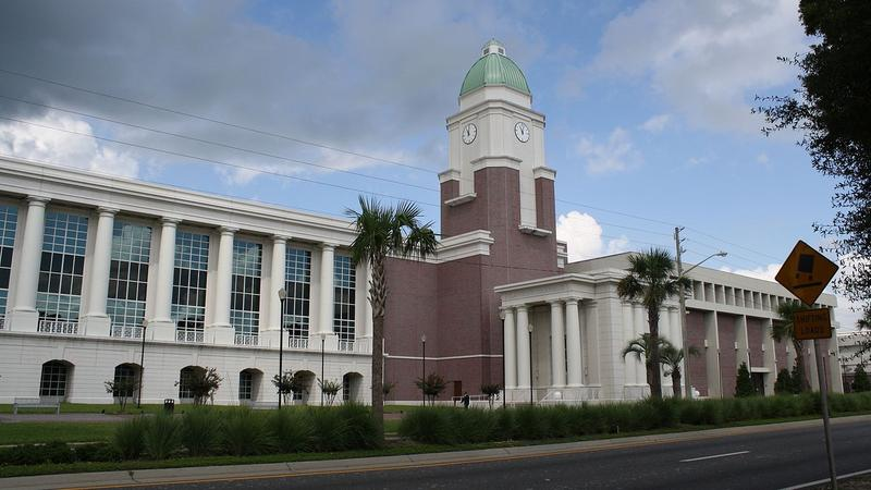 The Clay County Courthouse in Green Cove Springs.
