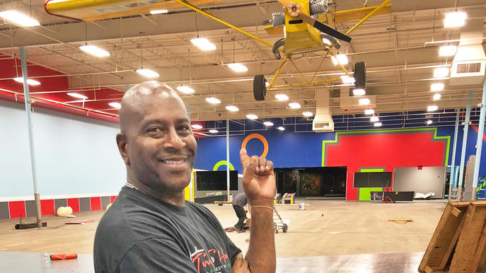 Terry Harris is developing Sk8CityJax in the Regency Court Shopping Center.