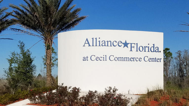 Hillwood has filed plans for another warehouse at Alliance Florida.