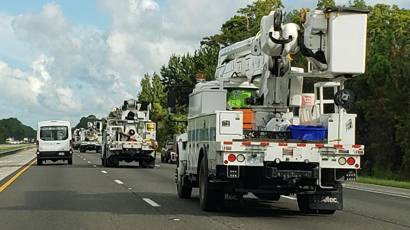 More than 500 FPL employees and contractors are heading to the Carolinas to help with expected power outages from Hurricane Florence.
