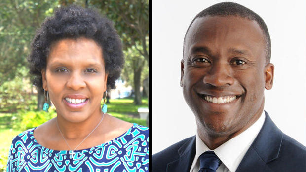Brenda Priestly Jackson and Terrance Freeman.