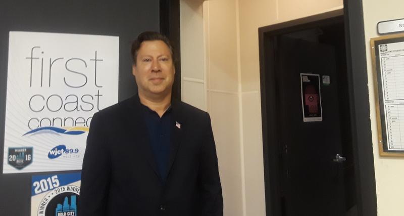Democratic candidate for Florida's 4th Congressional district Ges Selmont stopped by First Coast Connect on Tuesday.