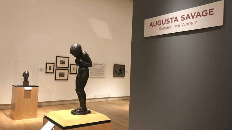 The Cummer's Augusta Savage exhibit includes about 80 pieces.