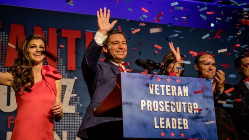 Florida Governor-elect Ron DeSantis.