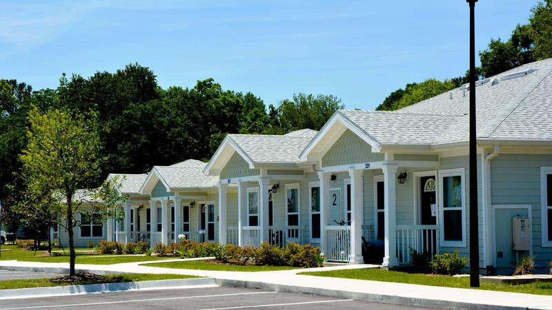 Village on Wiley,  a multifamily permanent supportive housing development owned by Ability Housing and financed by the Florida Housing Finance Corporation.