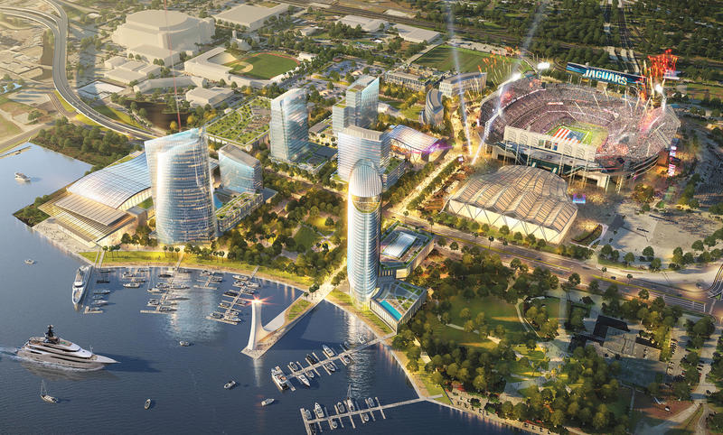 "Jaguars owner Shad Khan is planning to develop the area around TIAA Bank Field and at some point will want a ""stadium solution"" to keep up with NFL trends."