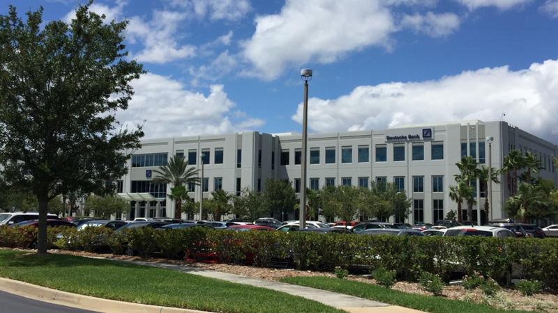 Deutsche Bank opened its Jacksonville location on Gate Parkway in 2008.