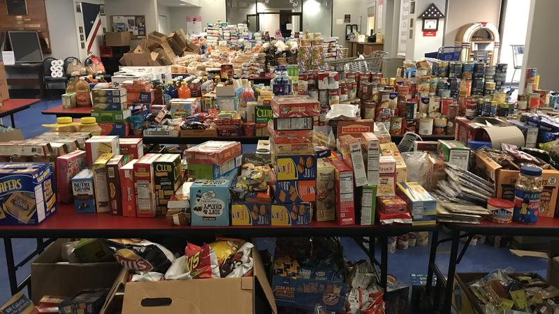 The Mayport USO has stockpiled food and other household items needed by Coast Guard families who are struggling to pay their bills during the government shutdown.