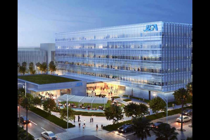 The JEA headquarters at the Lot J development.