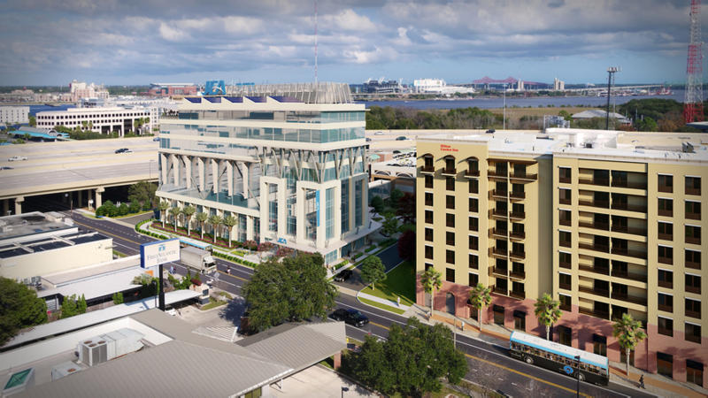 Mike Balanky of Chase Properties, would develop an eight-story building on a site the company controls near Kings Avenue Station at 1201 Kings Ave. on the Southbank.