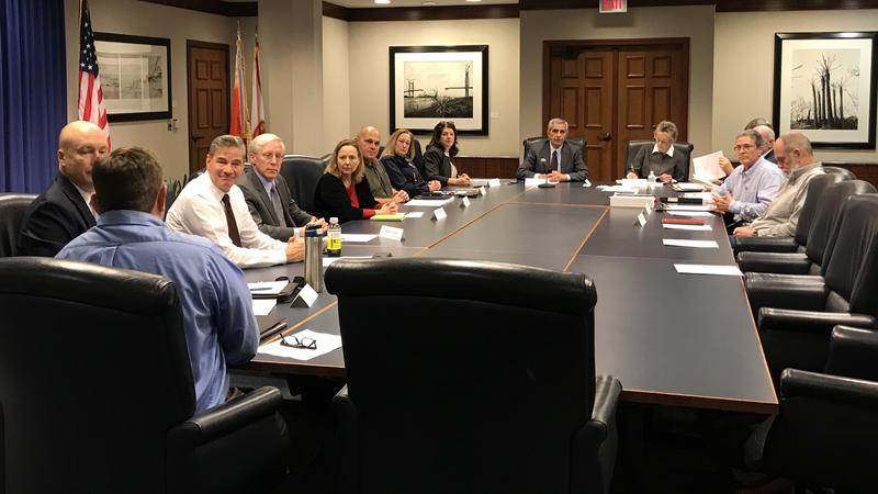 Storm Resiliency and Infrastructure Development Review Committee members met for the first time Friday.