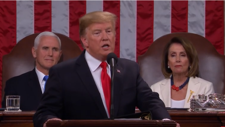 President Trump delivers his State of the Union address Tuesday night.