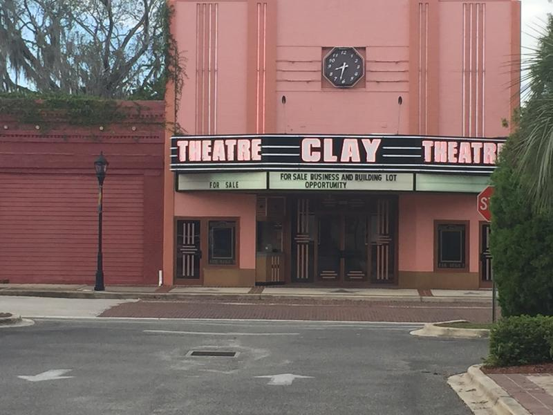 The historic Clay Theater is currently closed, awaiting funds to refurbish the building.