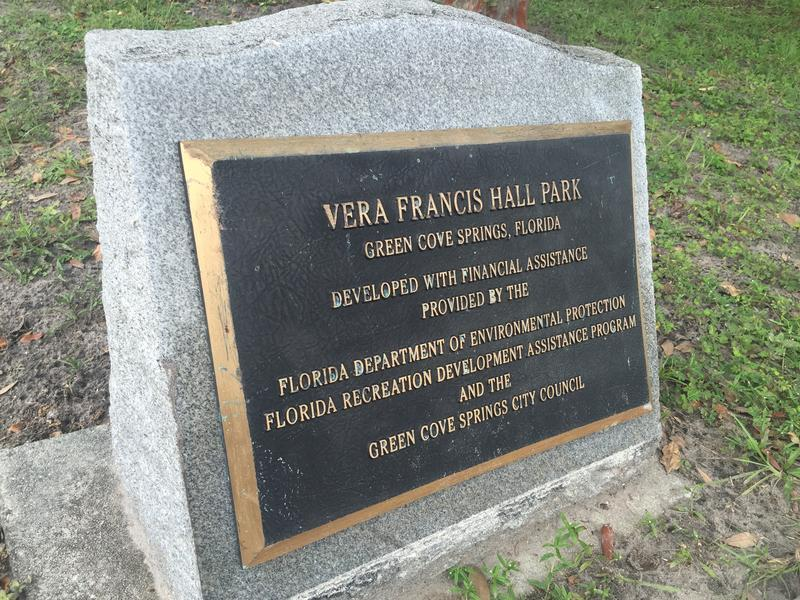 Vera Francis Hall Park used to be the city dump, before city officials, with the help of her son Eugene Francis, converted the space into a community park.
