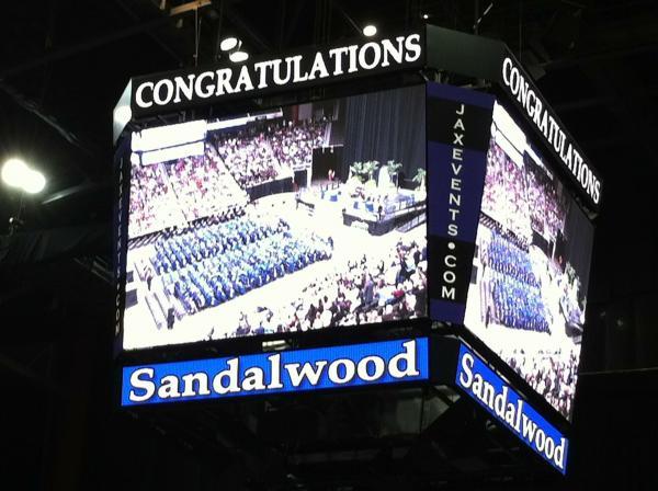 Sandalwood High School Graduation 6 June 2013, Veteran's Memorial Arena