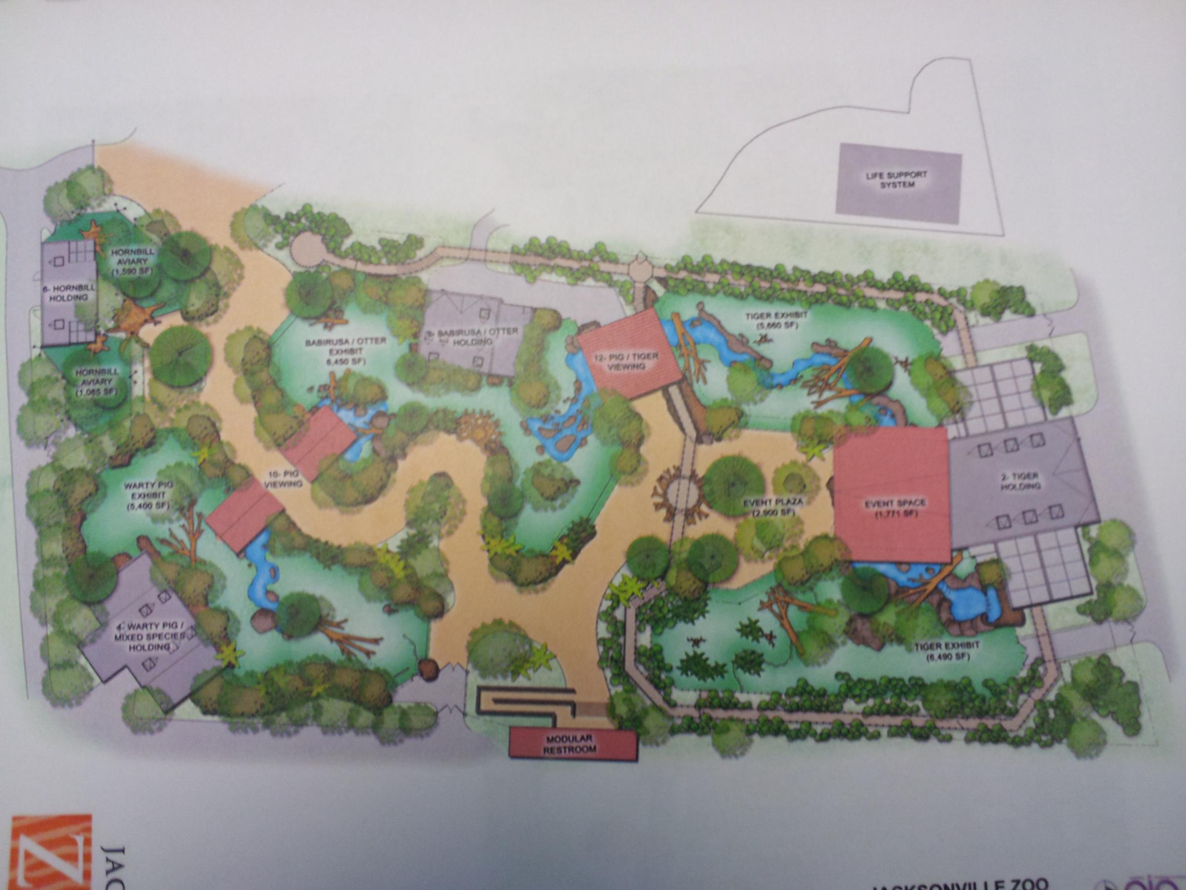 Jax Zoo Breaks Ground On Tiger Exhibit Wjct News