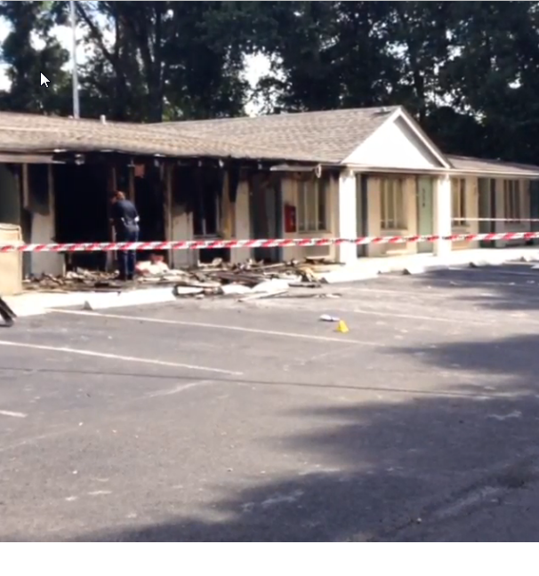 Buick Sought In Southside Motel Shooting/Arson Found