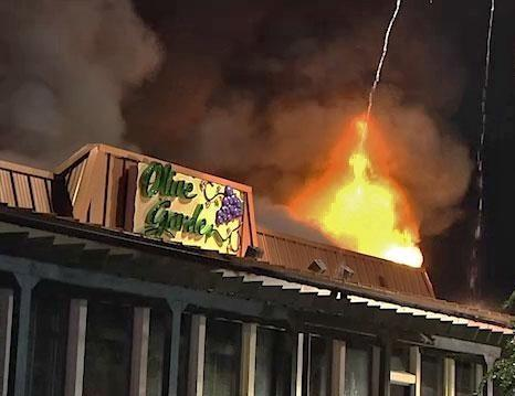The Future Remains Hazy For Employees Of Fire Ravaged Olive Garden Wjct News