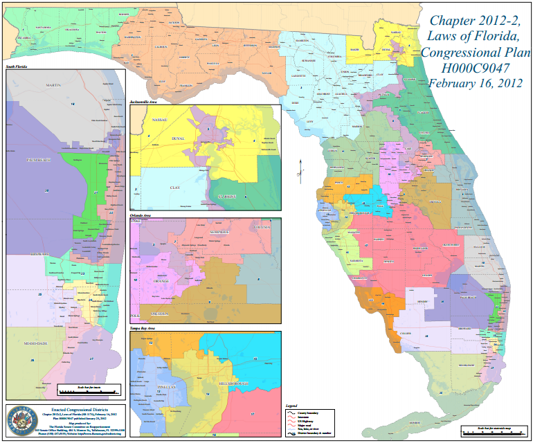 Florida Congressional Districts Map.What Are The Stakes In Florida S Redistricting Lawsuit Wjct News