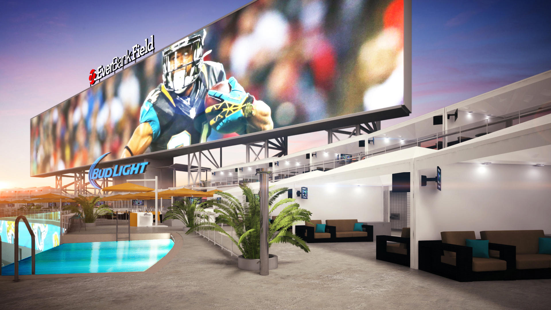 Photos Everbank Field Upgrades Target High End Ticket Buyers Wjct News
