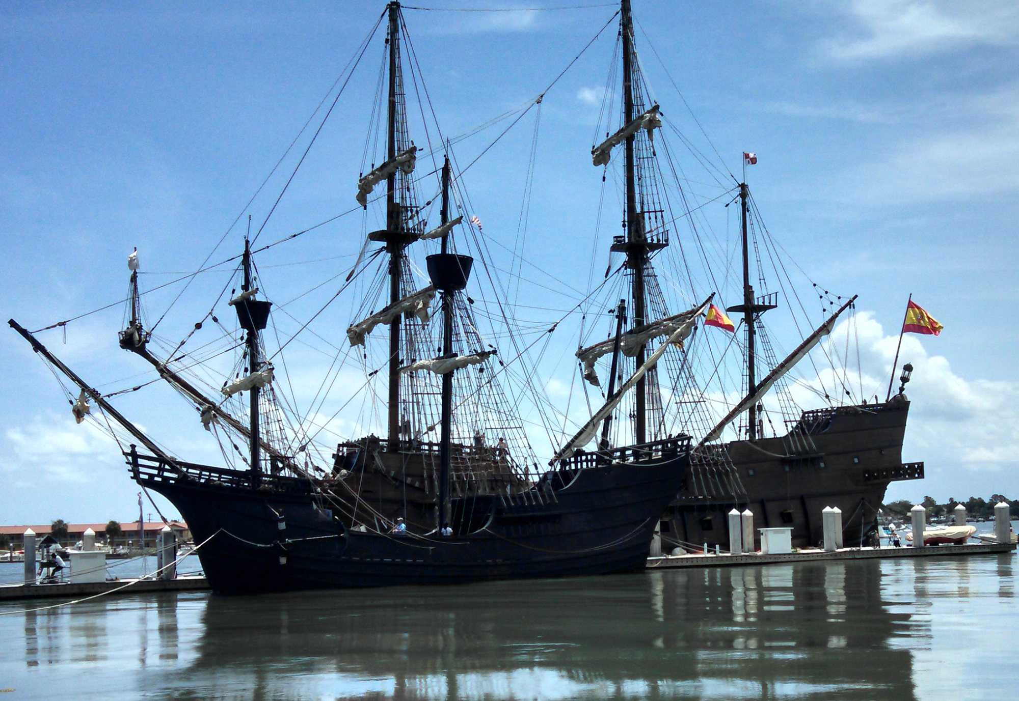 Used Cars St Augustine ... Ship Photos: historic spanish ship docked in st. augustine