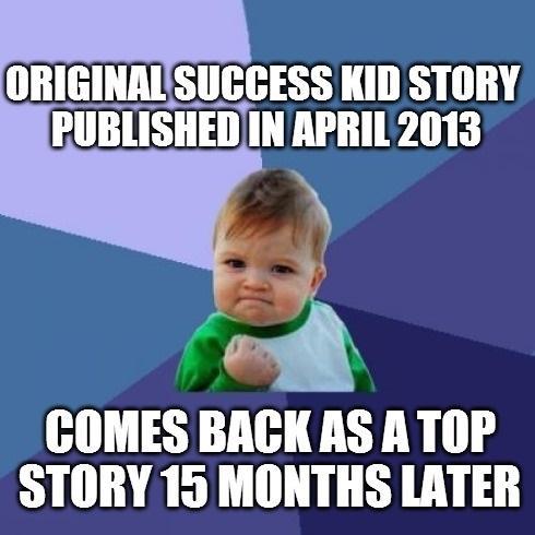 The Week In Web - Success Kid, The Hurricane Lady, Hobby ...