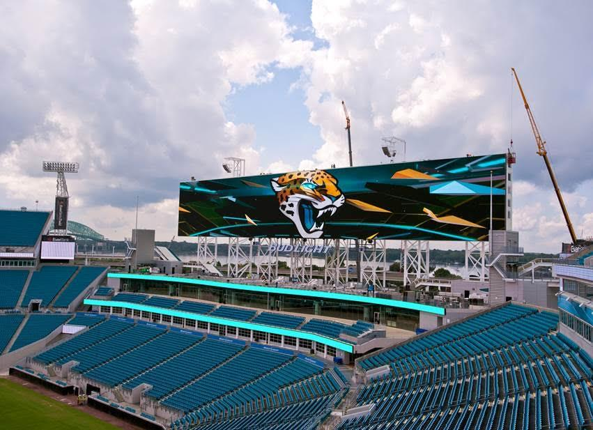 Wonderful The New Video Boards At Everbank Field Are 60 Feet High And 362 Feet Long.  Theyu0027ll Be Unveiled At An Event Saturday Featuring A Friendly Soccer Match  ...