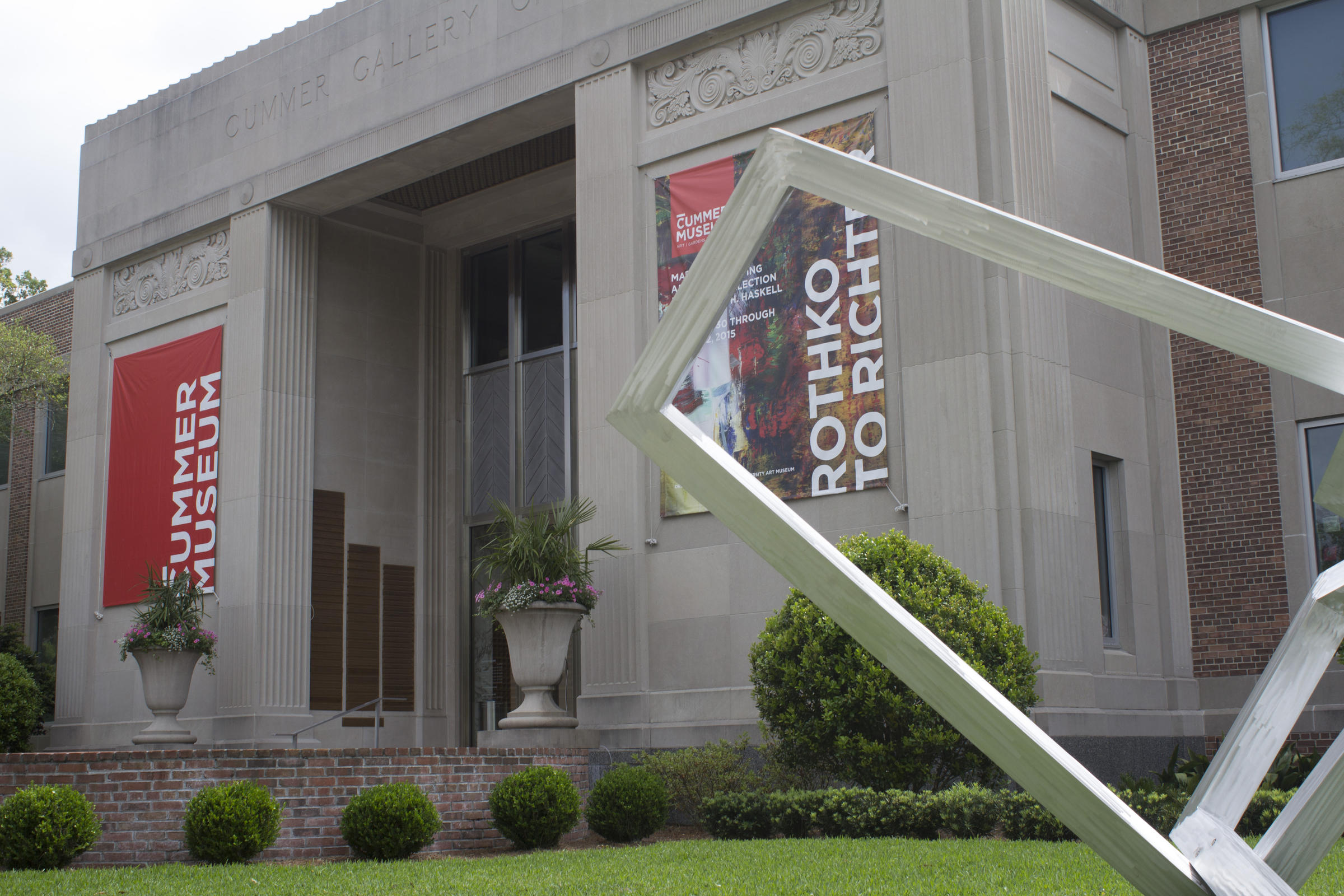 Pushing Public Art Cummer Museum Hosts Pop Up Sculpture
