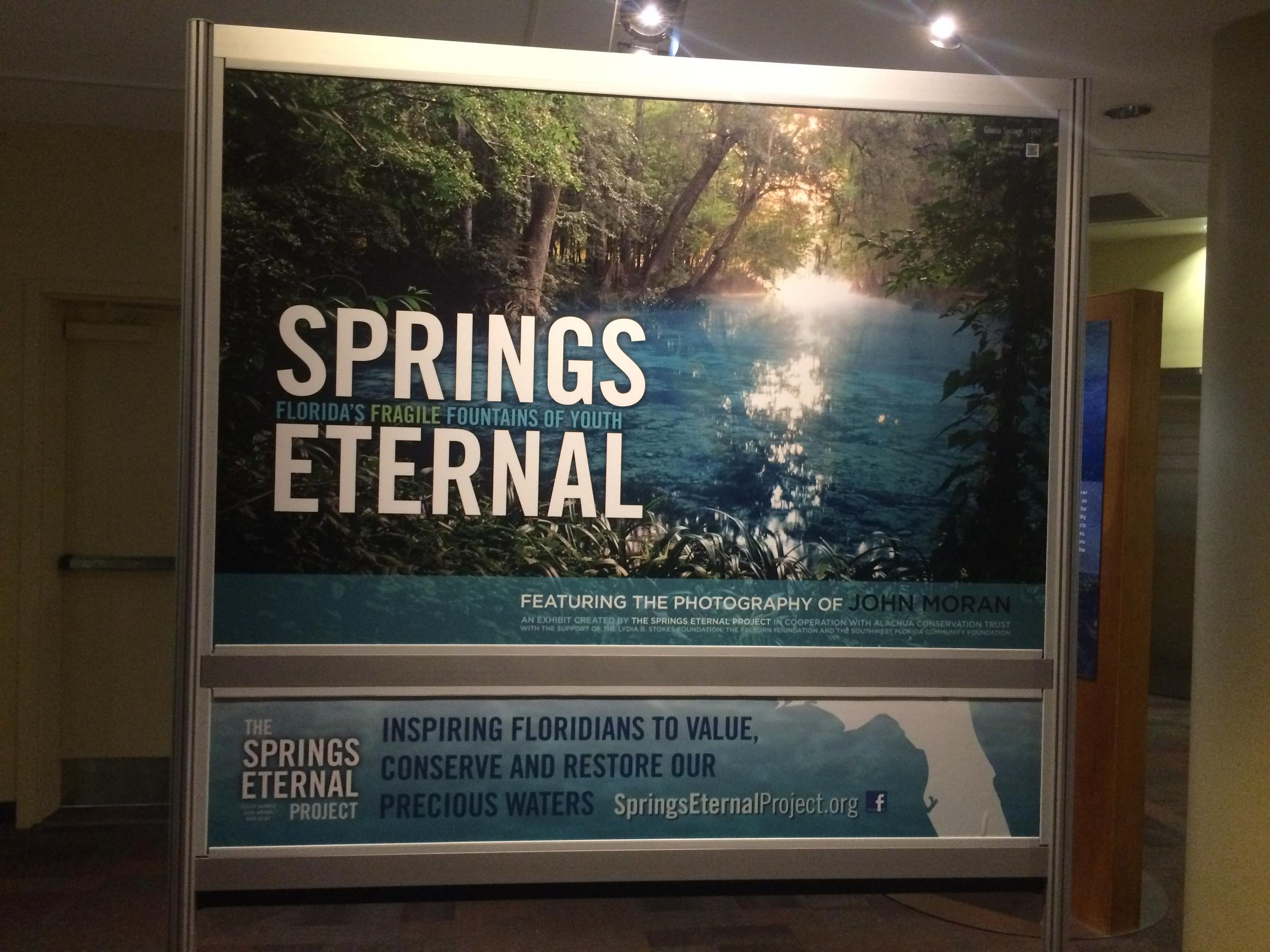 MOSH Exhibit Reveals Years Of Changes In Florida's Springs | WJCT NEWS