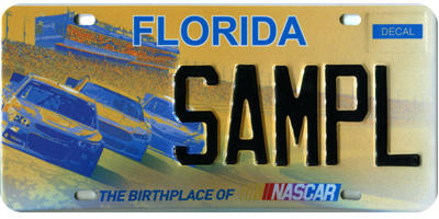 Florida Reveals New Nascar Specialty Tag Wjct News