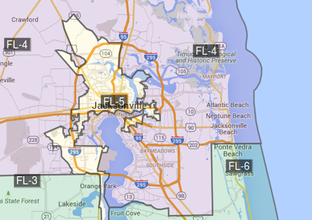 New Florida Congressional Map Sets Stage For Special Session - Florida map districts