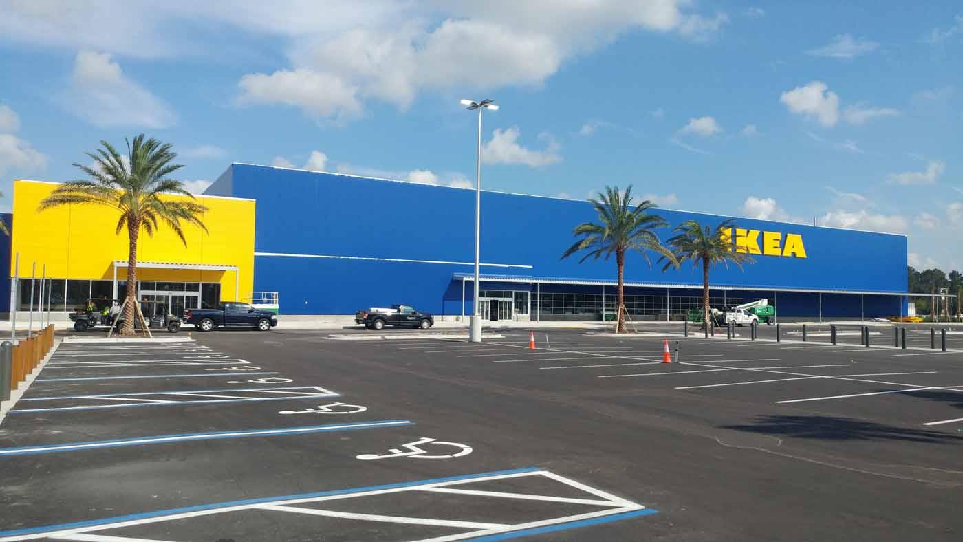 Ikea begins stocking its new jacksonville store for fall for New at ikea