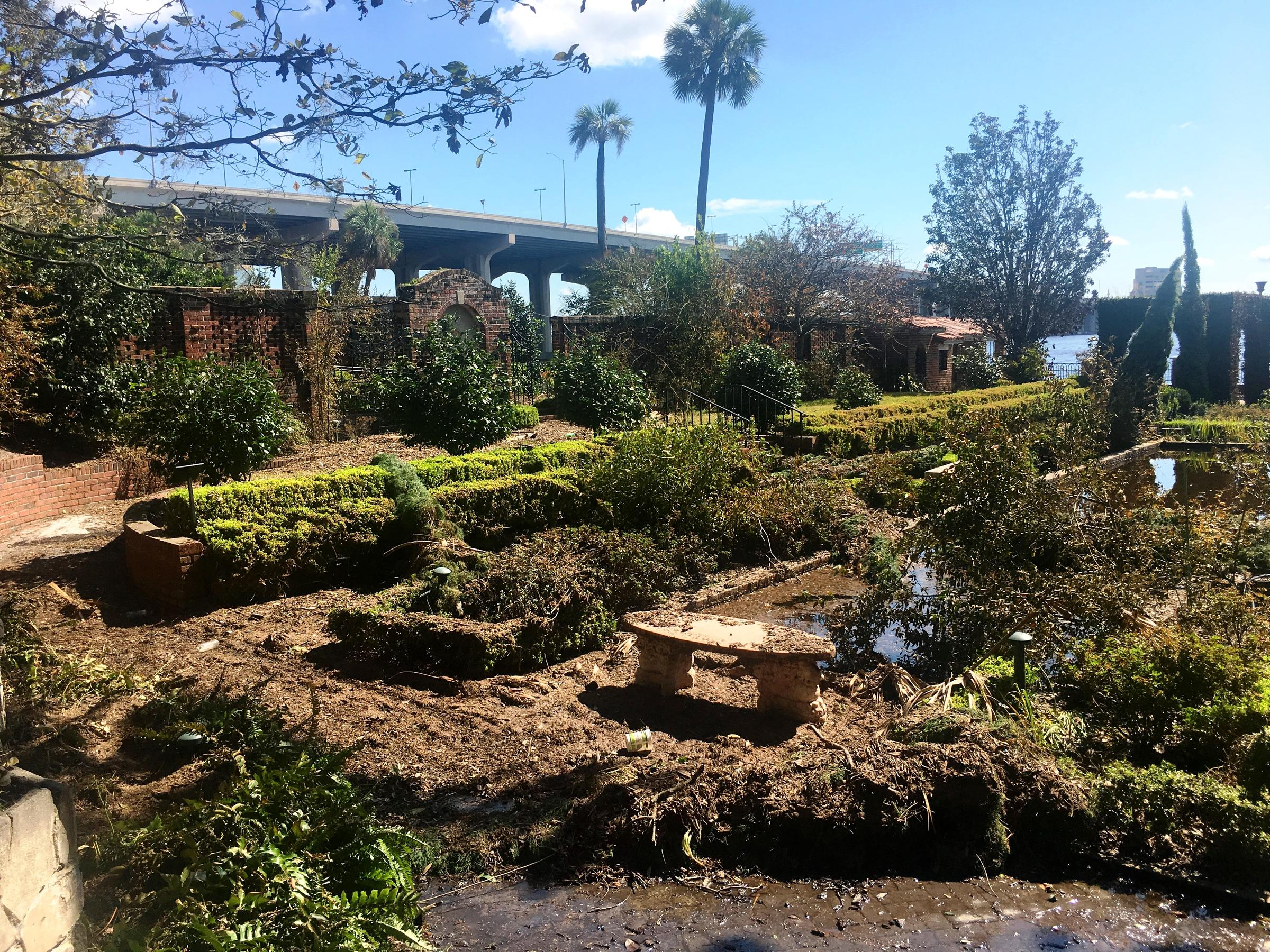 Wrecked Cummer Gardens Among Jacksonville Casualties Of Irma | WJCT NEWS