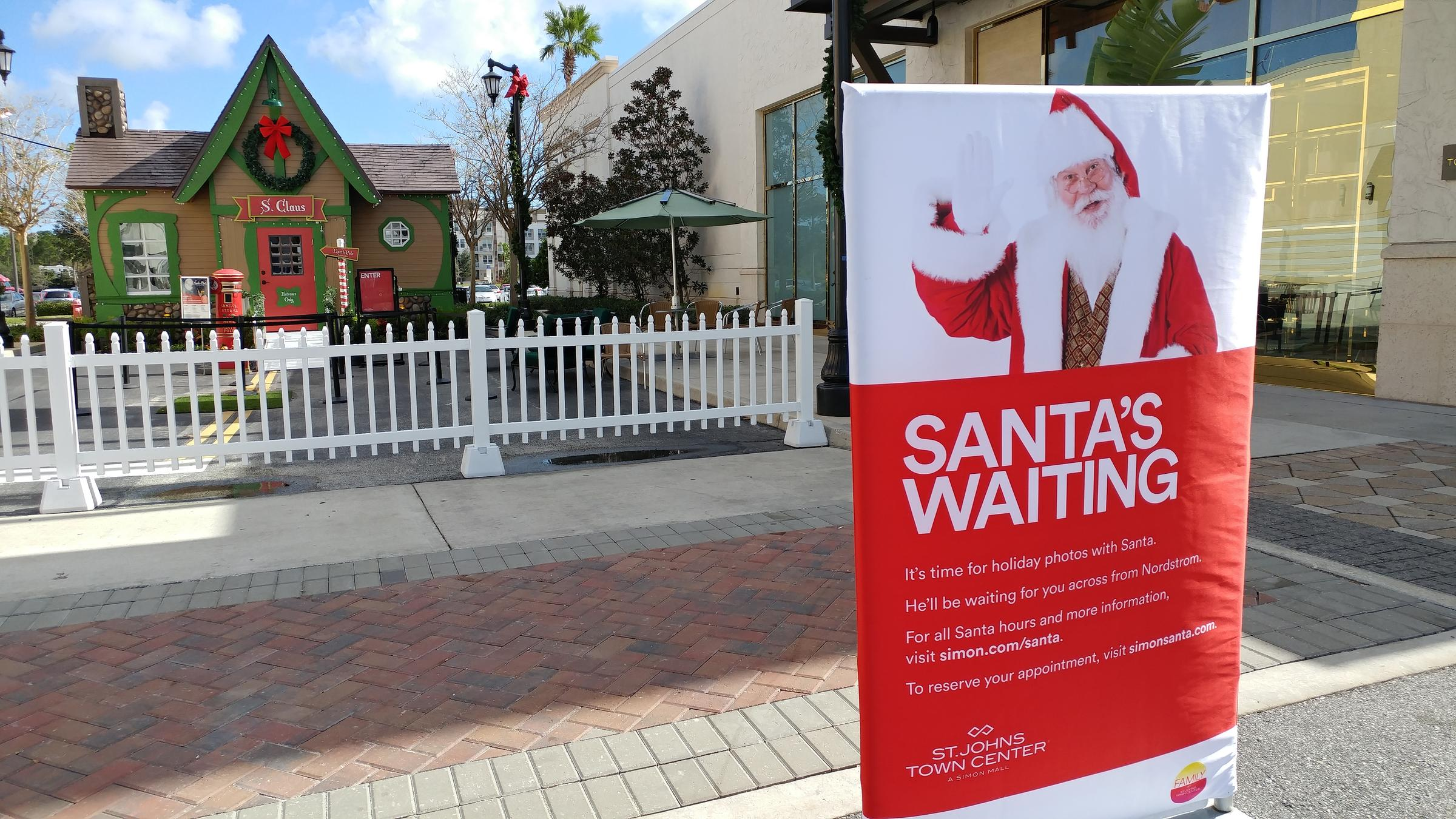 a christmas season display is pictured on nov 12 2017 at the st johns town center - Nordstrom Christmas Hours