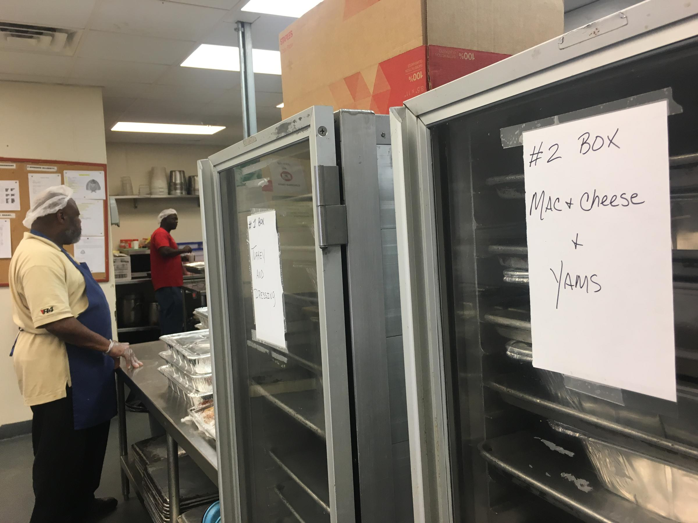 City Rescue Mission downtown served up a holiday feast for an estimated 1,200 people in need Wednesday