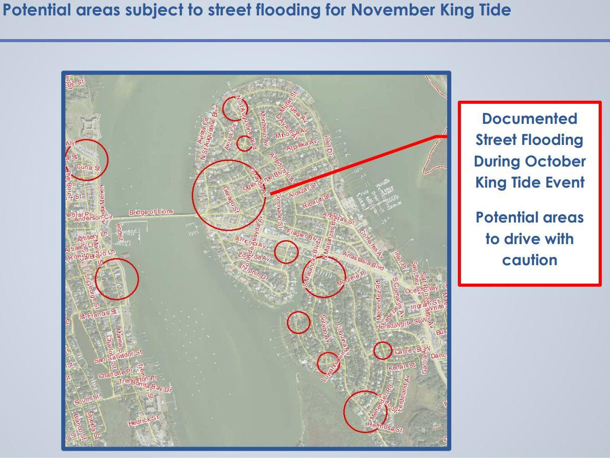 St augustine tides chart images free any chart examples king tides trigger concern for potential st augustine flooding provided by city of st augustine nvjuhfo nvjuhfo Images