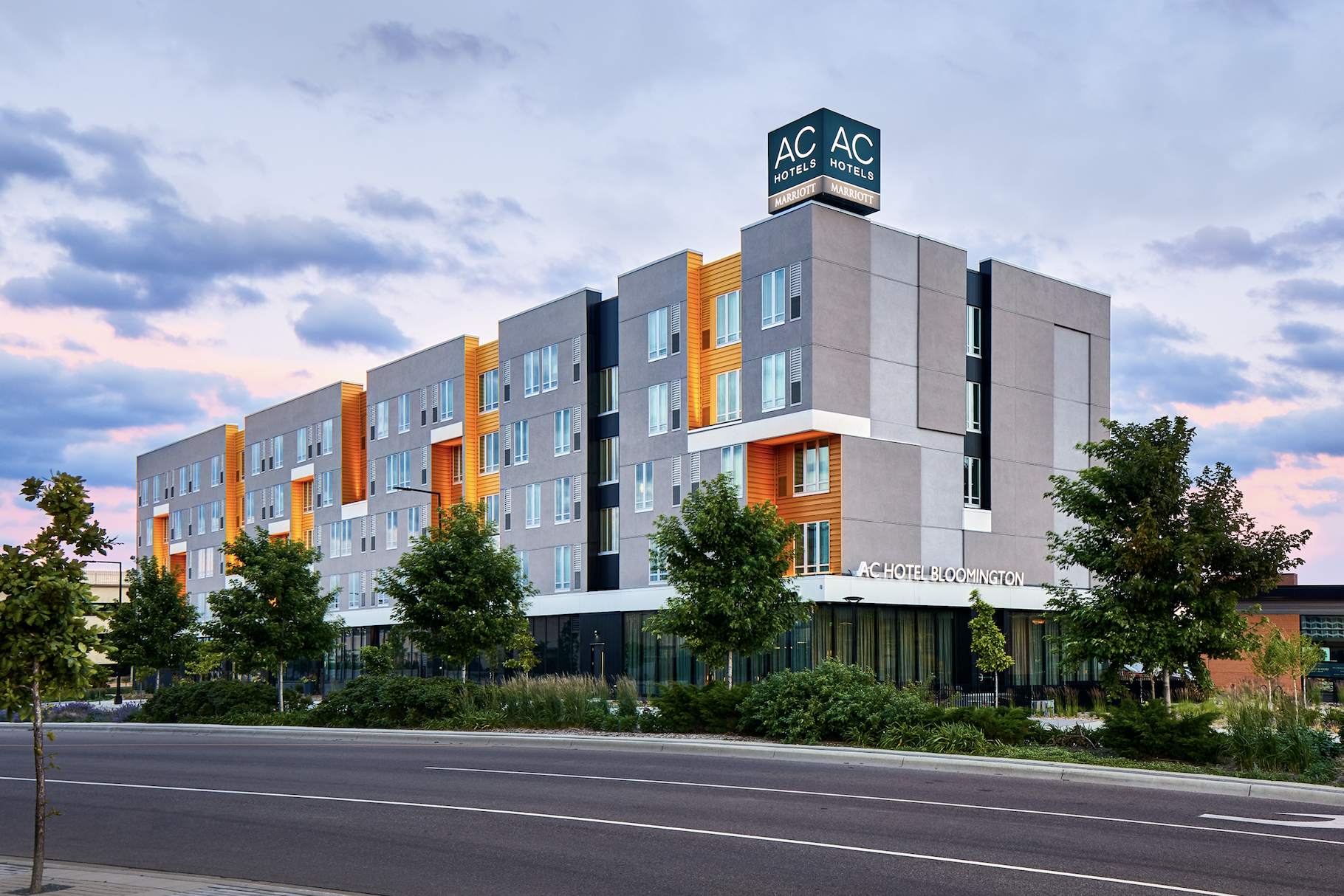This Image Shows An Ac Hotel By Marriott In Bloomington Minn Jacksonville S Planned Is The Design Phase